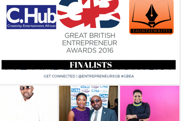 Great British Entrepreneur award